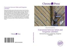 Bookcover of Conversion between Julian and Gregorian calendars