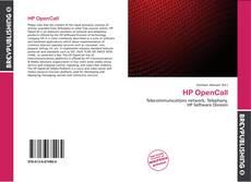 Обложка HP OpenCall