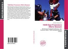 Portada del libro de 1949 San Francisco 49ers Season