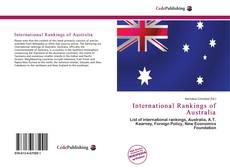 Portada del libro de International Rankings of Australia
