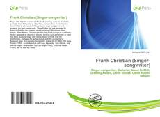 Couverture de Frank Christian (Singer-songwriter)