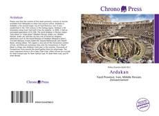 Bookcover of Ardakan