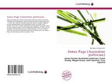 Copertina di James Page (Australian politician)