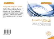 Opposition Officielle (Canada)的封面