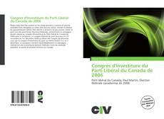 Portada del libro de Congrès d'Investiture du Parti Libéral du Canada de 2006