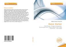 Dave Carter kitap kapağı