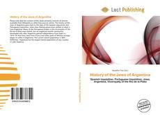 Обложка History of the Jews of Argentina
