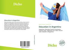 Education in Argentina kitap kapağı