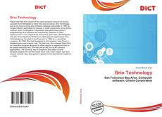Bookcover of Brio Technology