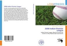 Bookcover of 2008 Indian Premier League