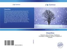 Couverture de Cleanthes