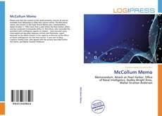 Capa do livro de McCollum Memo