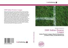 Bookcover of 2009 Indian Premier League