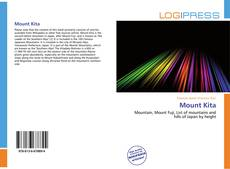 Capa do livro de Mount Kita