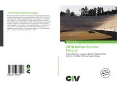 Portada del libro de 2010 Indian Premier League