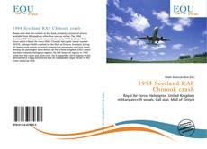 Buchcover von 1994 Scotland RAF Chinook crash