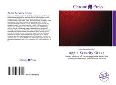 Bookcover of Appin Security Group