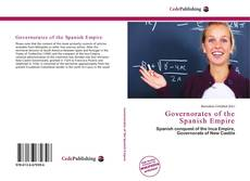 Bookcover of Governorates of the Spanish Empire