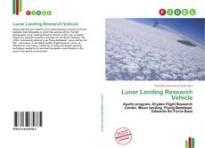 Copertina di Lunar Landing Research Vehicle