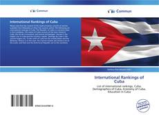 Bookcover of International Rankings of Cuba
