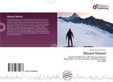 Mount Shiomi的封面