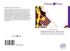 Bookcover of Administrative Division