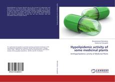 Copertina di Hypolipidemic activity of some medicinal plants