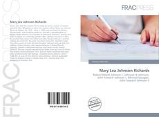 Bookcover of Mary Lea Johnson Richards