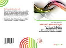 Bookcover of Monique Jérôme-Forget