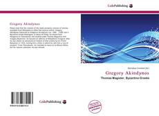 Bookcover of Gregory Akindynos