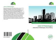 Capa do livro de John V Palaiologos