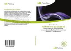 Portada del libro de Parti libéral du Québec