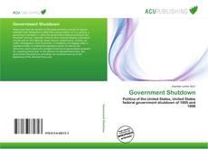 Bookcover of Government Shutdown