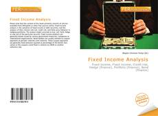 Bookcover of Fixed Income Analysis