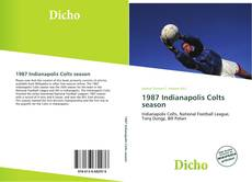 Capa do livro de 1987 Indianapolis Colts season
