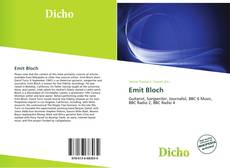 Bookcover of Emit Bloch