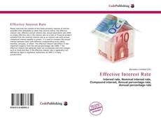 Copertina di Effective Interest Rate