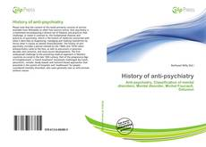 History of anti-psychiatry kitap kapağı