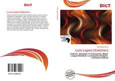 Capa do livro de Luis Lopez (Catcher)
