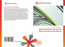 Portada del libro de Attack Surface Analyzer
