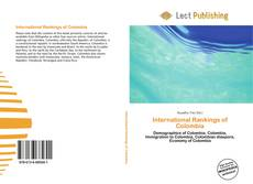 Bookcover of International Rankings of Colombia