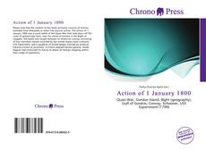 Capa do livro de Action of 1 January 1800