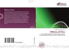 Copertina di Military of Peru