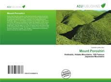 Mount Poroshiri的封面