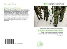 Bookcover of Brigade Franco-allemande