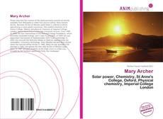 Borítókép a  Mary Archer - hoz