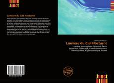Capa do livro de Lumière du Ciel Nocturne