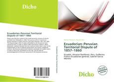 Обложка Ecuadorian–Peruvian Territorial Dispute of 1857–1860