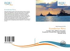 Capa do livro de Ecuadorian Navy