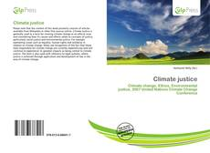 Bookcover of Climate justice